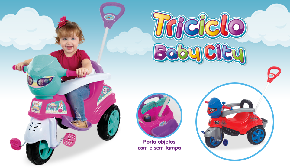 Triciclo Baby City