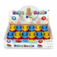 2189 - Baby Boats - Display - Tag com 3 Unidades